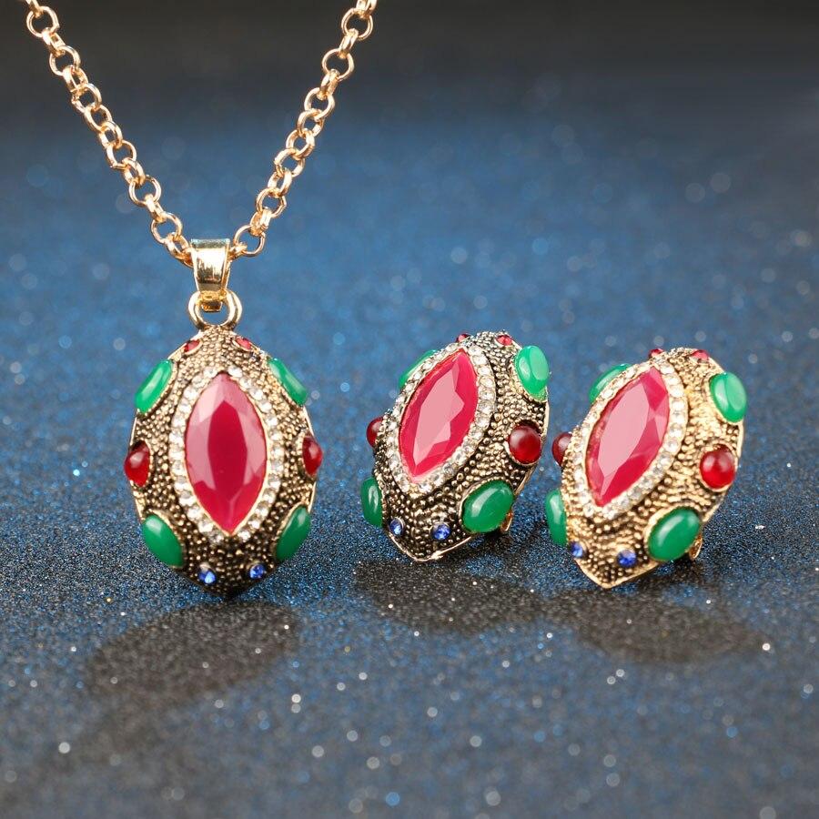 Tyrkiske smykker Nigerianske bryllup afrikanske perler Lucky Eye - Mode smykker - Foto 2