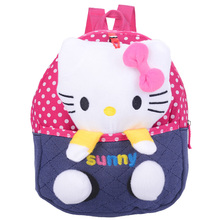 New cute cartoon kids plush backpack toys mini schoolbag Children s gifts kindergarten boy girl baby