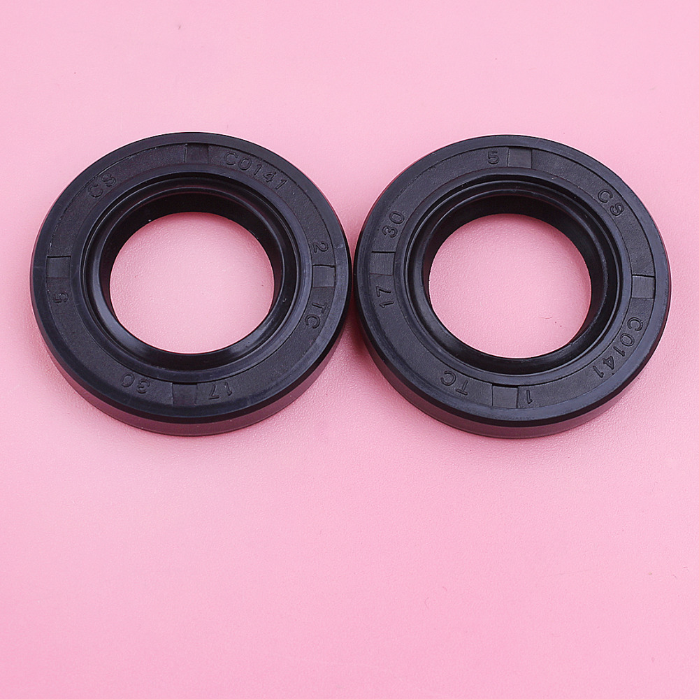 2pcs/lot Crank Oil Seal For Stihl MS390 039 MS310 MS290 029 MS 390 310 290 Chainsaw Replace Spare Tool Part