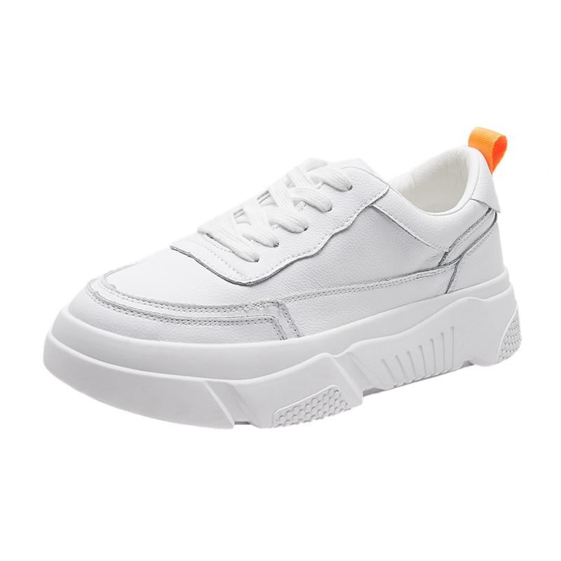 2 De Collège La Sauvage En 2018 1 Nouvelle Version Vent Chaussures Sport Coréenne Cuir Casual Blanc Marée qaxU1wp