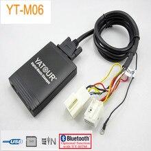 Yatour yt-m06 Car Digital CD Music Changer USBMP3 AUX adapter forVW Golf Beetle EOS Jetta Passat Rabbit T5 Tiguan Touareg Touran