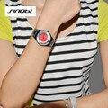SINOBI Рождественский Подарок Часы-Браслет Женщин Мода Сплава Часы Женщины Одеваются Часы Моды Кварцевые Часы девушки Подарки AB2267