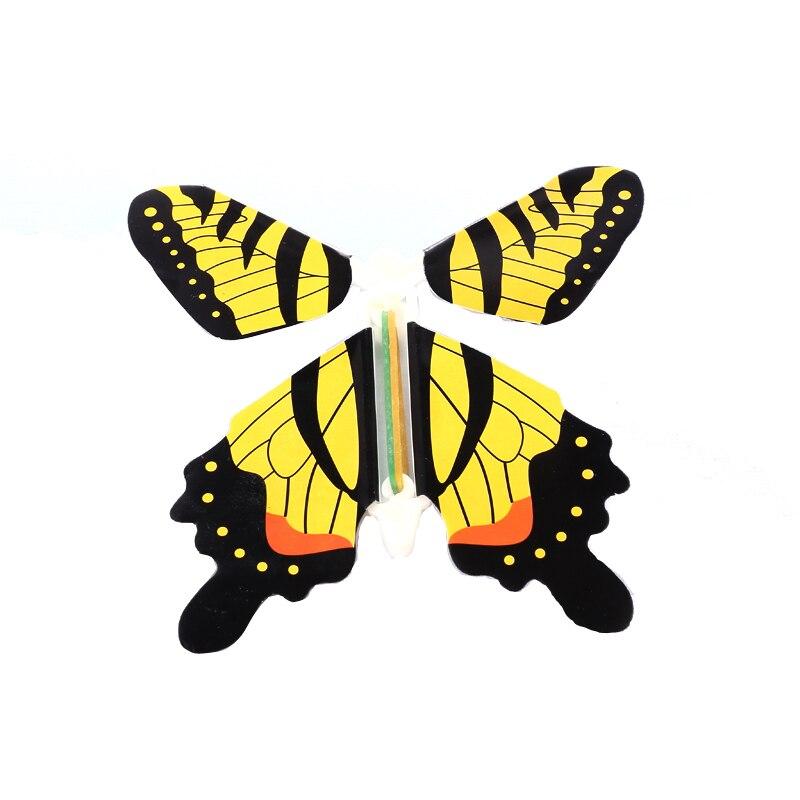 50 pcs/pack jouet magique Transformation mouche papillon accessoires tour de magie changer les mains drôle blague blague mystique plaisir jouet Surprise cadeau - 4
