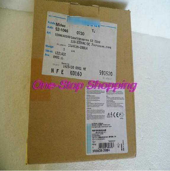 New Original Starter 3RW4036-2BB04