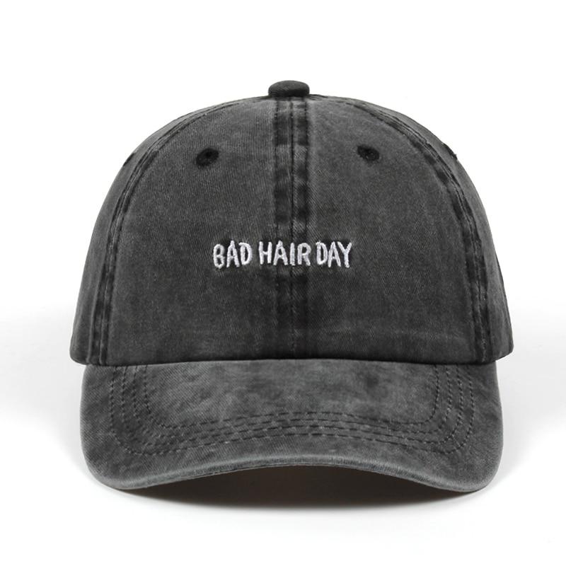c4ea1643188 high quality Women Baseball Cap Men Casquette Snapback Caps Hats Cotton  Brand Bone BAD HAIR DAY
