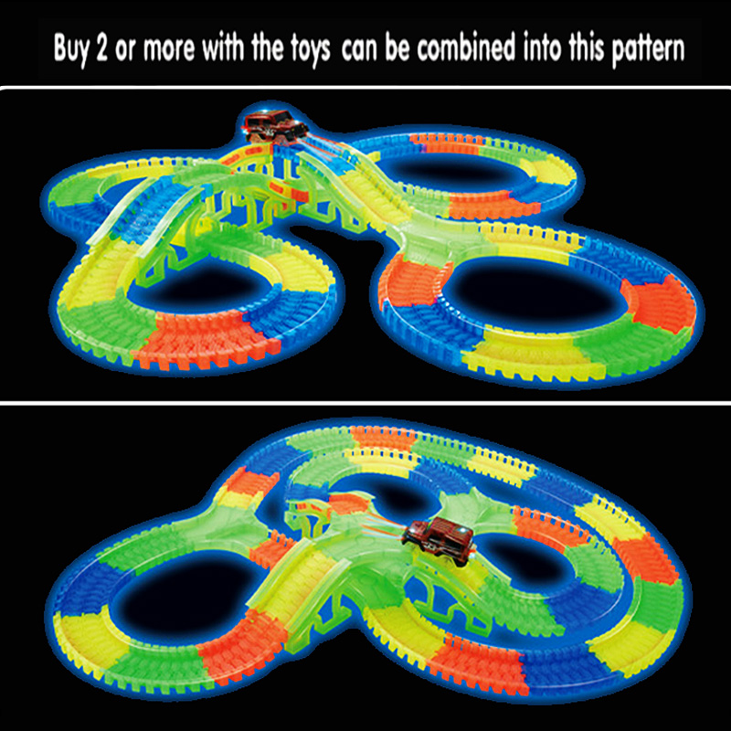 300150-PCS-Bend-Flexible-Curve-Slot-DIY-Track-Toy-Set-with-glows-in-the-dark-Track-LED-light-Racing-Car-Toys-for-children-kids-1