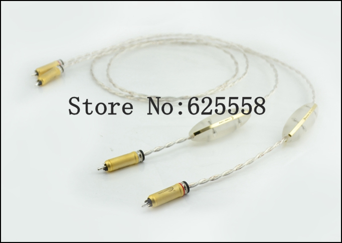 2M Free shipping Cable Dream line RCA Audio interconnects without origianl box