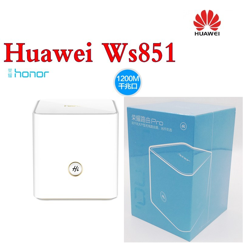 Huawei Honor Router Pro Ws851 Dual Band Wifi 2.4ghz 300mbps + 5ghz 867mbps Home Smart Router original huawei honor router standard version ws831 dual band wifi 2 4ghz 300mbps 5ghz 867mbps beamforming home smart router