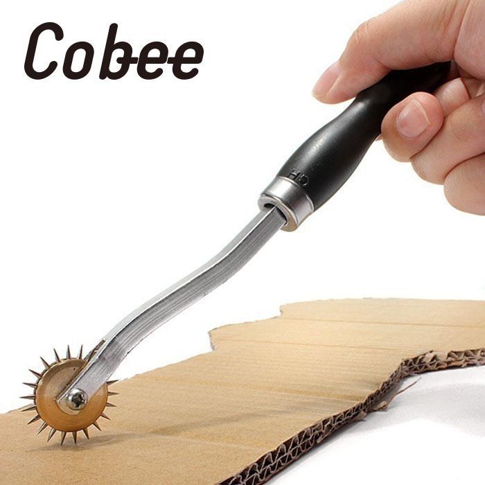 Cobee rueda herramienta de costura de cuero perforadora de papel ...