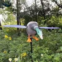 Xilei Toptan Rus Açık Avcılık Decoys Dc 6 V Uzaktan Kumanda Drake Decoys Ördek Avcılık Için Mıknatıs Ile Iplik Kanatları