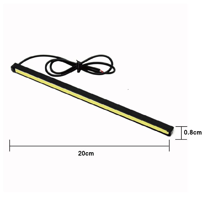 2 Pcs / Set SUNKIA Desain Baru 10 cm / 15 cm / 20 cm DRL LED Daytime - Lampu mobil - Foto 5