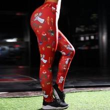 2018 Christmas Printing Leggings
