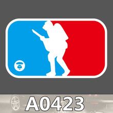 Bevle A0423 Heißer Verkauf Logo Wasserdicht Mode Kühle DIY Aufkleber Laptop Gepäck Skateboard Kühlschrank Auto Graffiti Cartoon Aufkleber