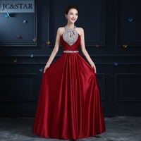 Custom Made Floor Length Satin Long Evening Dress Gown Long Design Formal Evening Dresses Gown Wedding