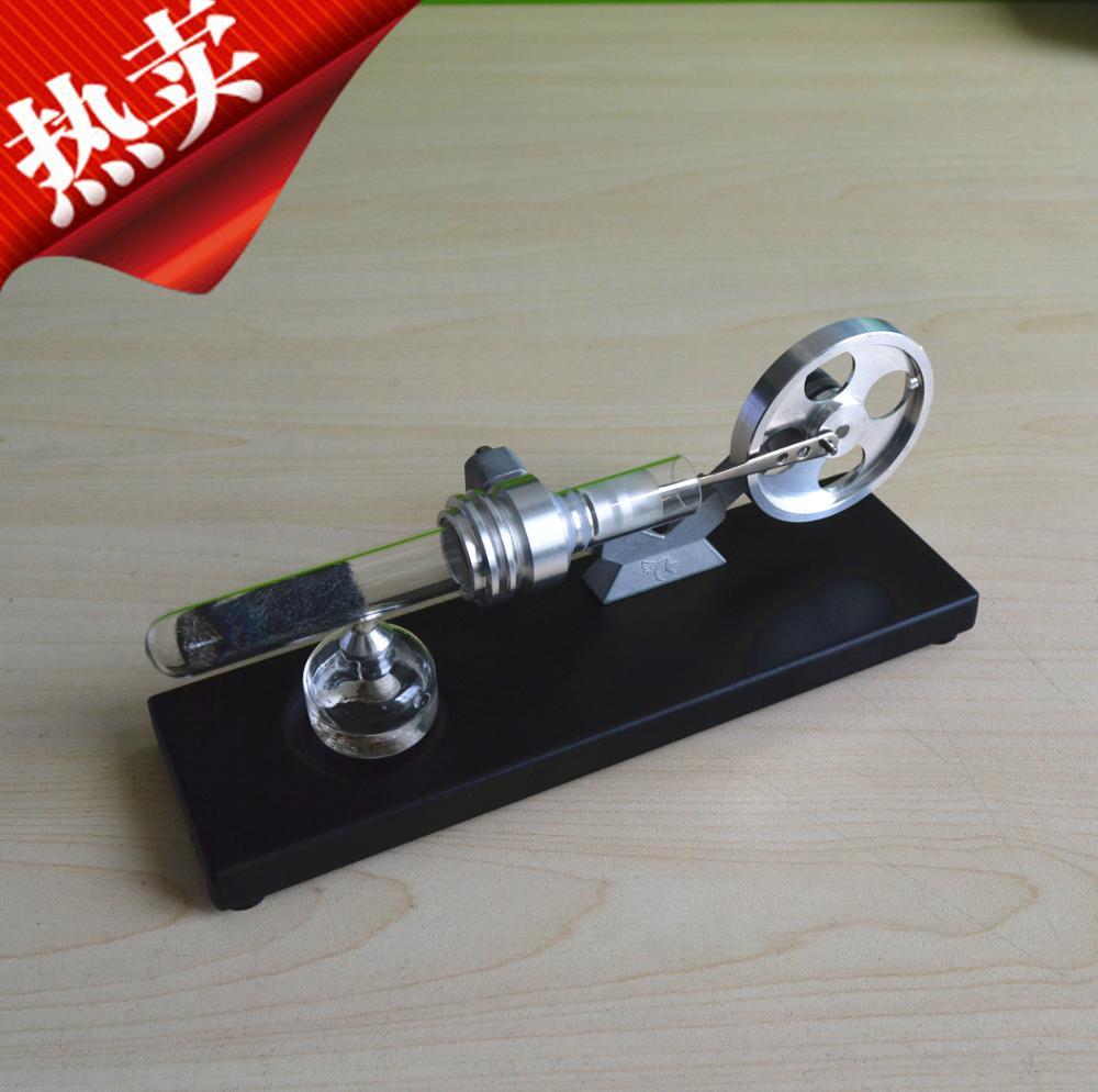 цена на Stirling scientific experiment model mini hot echo type external combustion engine