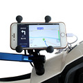 wupp motorcycle holder phone Stand Holder USB Charger Power Outlet Socket For iphone 6 5
