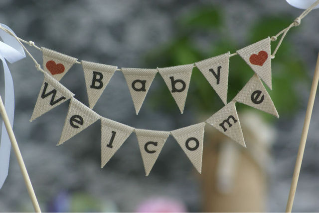 Aliexpress.com : Buy BABY WELCOME Baby Shower Cake , Baby Boy or ...