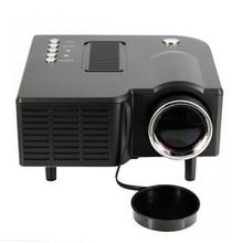 Black US Pug UC28 Mini Pico Projector Home Cinema Theater Digital LED LCD Projector VGA/USB/SD/AV/HDMI Multimedia Proyector