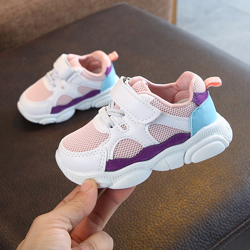 Kids 2019 Autumn Children Mesh Sneakers Spring Baby Boys Casual Shoes Fashion Sport Running Shoes Girls Breathable Shoes
