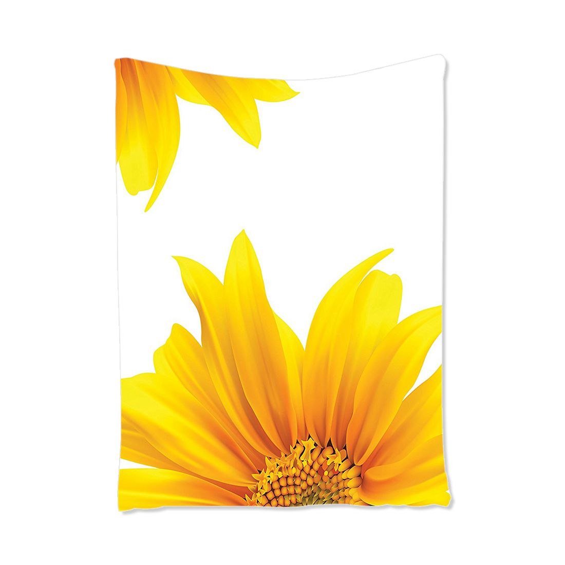 Flourishing Sun Flower Design Modern Vibrant Floral Summer Inspiration Artprint Decor, Bedroom Living Room Dorm Wall Hanging Tap