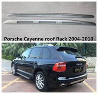 High Quality Roof Rack For Porsche Cayenne 2004 05 06 07 08 09 2010 Auto top Luggage Racks Rails Carrier Bars Aluminum alloy