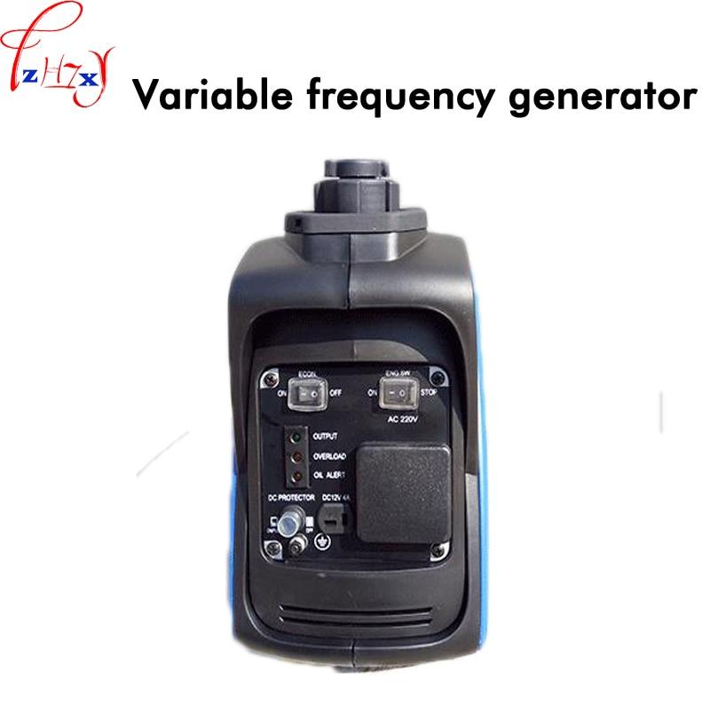Small household digital frequency conversion generators 800W portable gasoline generator 220V 2.1L 1PC 850w petrol inverter generator yk1000i quiet car household small gasoline generators portable silent generator ce tuv iso