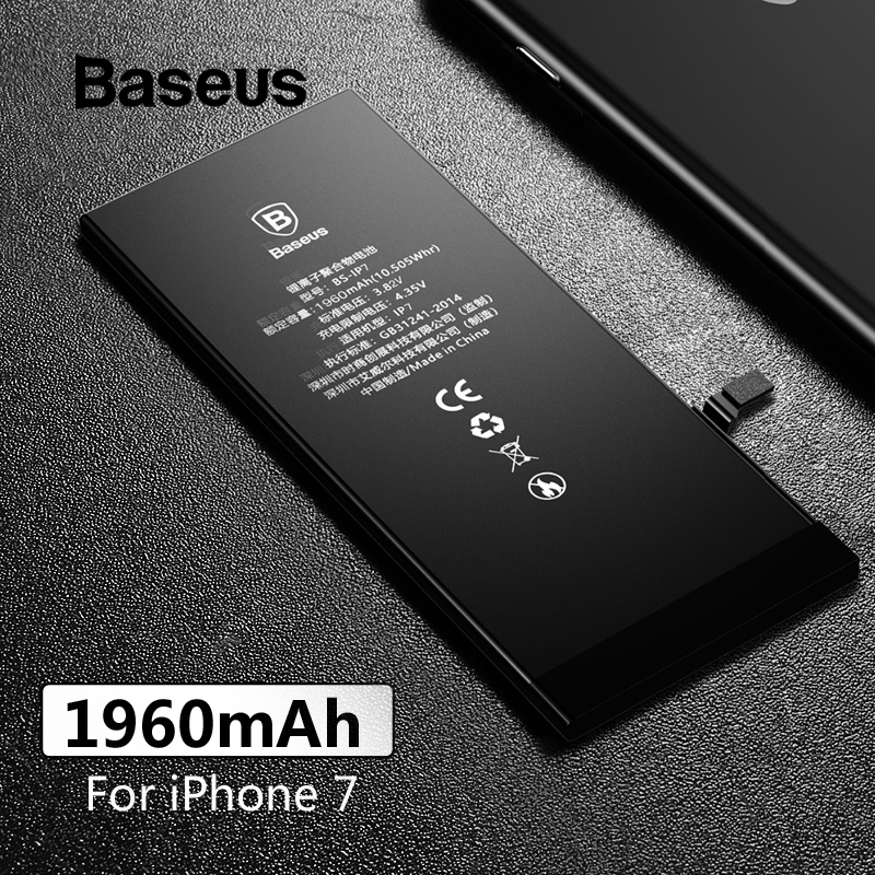 Baseus Phone-Batteries Replacement-Battery IPhone 7 1960mah For Large-Capacity With Free-Repairing-Tools-Kit