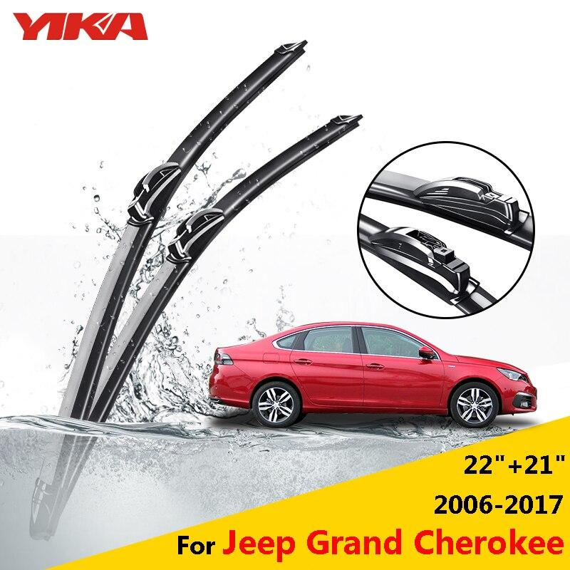 YIKA Car Windshield Rubber Wipers Glass Windscreen Wiper