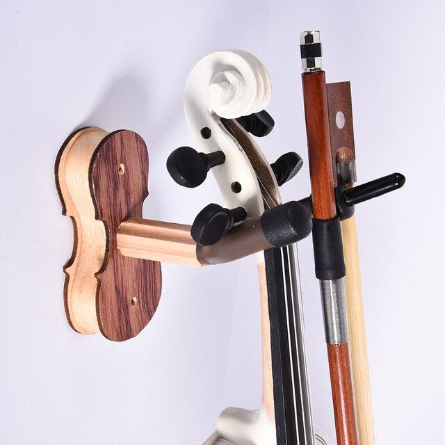 Parte de violino Violino Ukulele Ukulele Instrumento Cremalheira Ganchos Ganchos De Parede Ganchos De Parede Suporte Hot Sale Acessórios Para Instrumentos Musicais