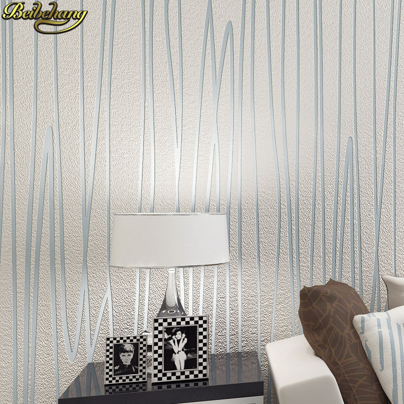 все цены на beibehang Abstract stripes wallpaper for walls 3 d Wall Paper Roll papel de parede 3D Mural Wallpaper for Living room bedroom онлайн