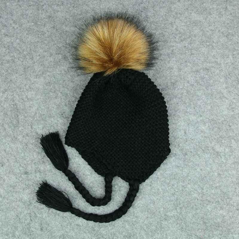 подробнее обратная связь вопросы о зимняя меховая шапка с помпоном