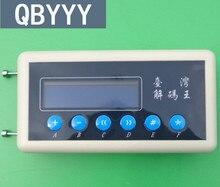 QBYYY 433 Mhz Remoto Scanner Código De Controle Remoto Detector 433 Mhz Copiadora Chave