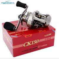 TSURINOYA CK150R L Bait Casting Fishing Reel Gear Ratio 6 6 1 9 1BB Magnet Centrifugal