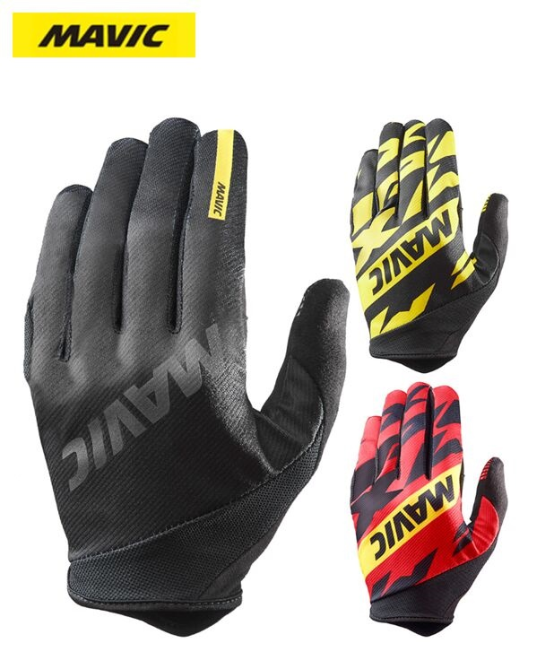 Mavic MTB Cycling Bicycle Brand New High Quality Durable Material Unique Design Comfortable Bike Sport Full Finger Gloves