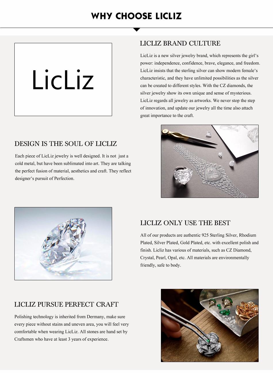 LicLiz Unique 925 Sterling Silver Circle Simple Strip Bar Pendant Necklaces Adjustable Chain Necklaces for Women Wedding LN0194 10