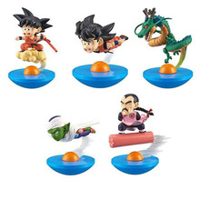 2 Sign 5pcs/set Anime Dragon Ball Super Z Tumbler Pvc DragonBall Action Figure Model Toys