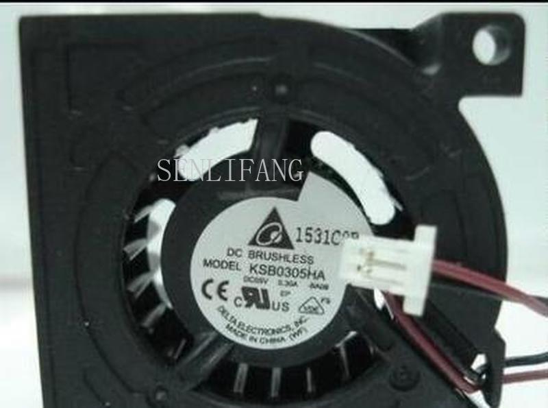 For DELTA 3cm KSB0305HA 3010 5v 0.3a 2Wire Cooling Fan