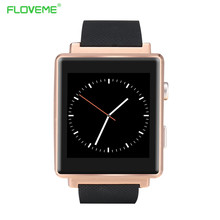Floveme c7vintage smart watch sd sim karte bluetooth smartwatch passometer sync anruf fernbedienung intelligente uhr für android