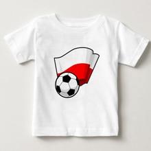 New football print T-shirt fashion trendy children's T-shirt white cotton boy short sleeved clothing boy's favorite multi sports