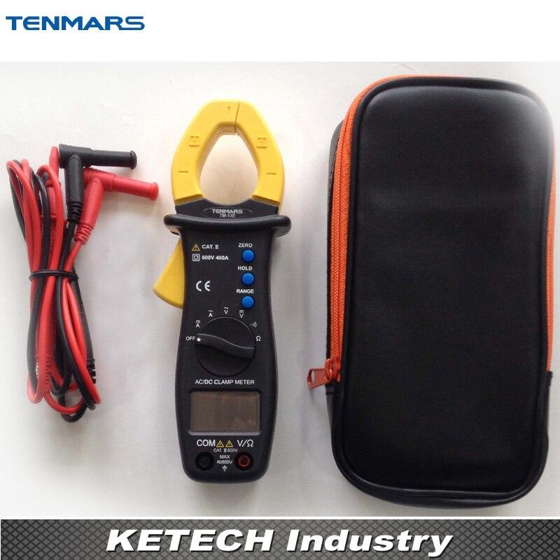 TENMARS Portable 400A Autoranging AC/DC Clamp Meter TM-13E tm 102 autoranging sound level meter