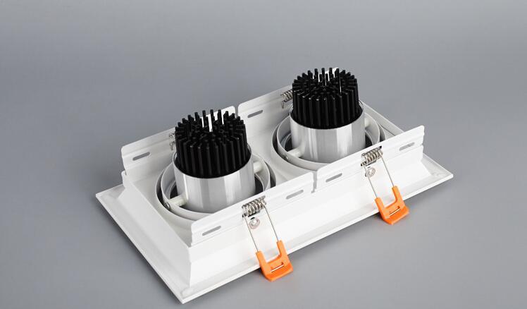 1 stücke 10 watt 20 watt 30 watt 110 v 220 v led dimmbar decke - Innenbeleuchtung - Foto 3