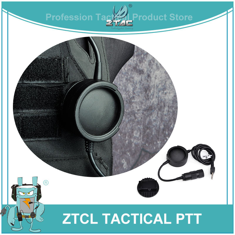 Z-tac Airsoftsports ZTCI Tactical Headset PTT Plug Hole Military Headphone For Kenwod PTT Paintball Nylon Plastic Peltor Z138Z-tac Airsoftsports ZTCI Tactical Headset PTT Plug Hole Military Headphone For Kenwod PTT Paintball Nylon Plastic Peltor Z138