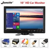 Jansite car screen 10 inch car monitor 1920*1080 TFT LED screen car display PAL/NTSC Image Flip Multipurpose reverse image HDMI