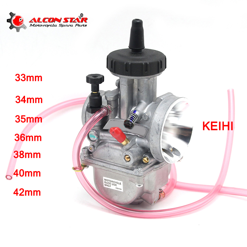 Alconstar Keihi PWK 33 34 35 36 38 40 42mm Motorcycle Racing Carburetor With Power Jet