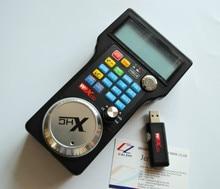 Máquina de gravação de controle remoto volante MPG USB mach3 volante sem fio para CNC 3 eixos 4 eixos controlador da máquina de trituração