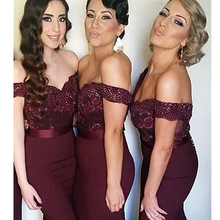 New Sexy Bridesmaid Dresses V-Neck Chiffon Mermaid Bridesmaid Dresses Long Backless Sleeveless Sweep Train Party Dresses