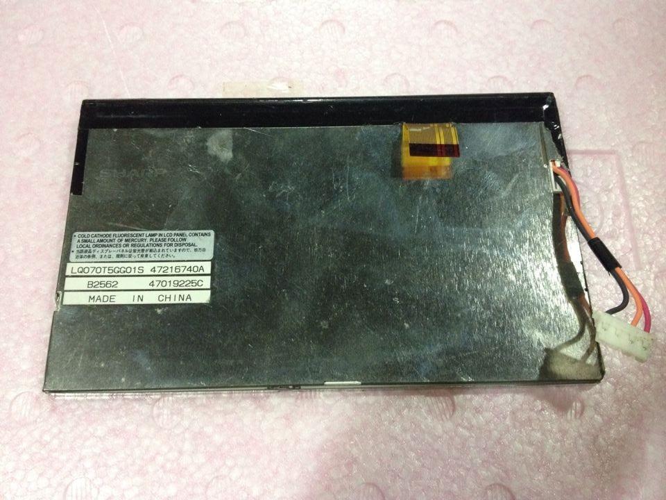 LQ070T5GG015  7 inch original LCD screen аксессуар защитное стекло gc 4 7 inch универсальное gg u47