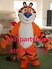 Sommer heißer verkauf!! Neue Erwachsene katze tiger blaue nase mit anzüge schuhe hände maskottchen kostüm-fantasie-partei kleid Halloween kostüm