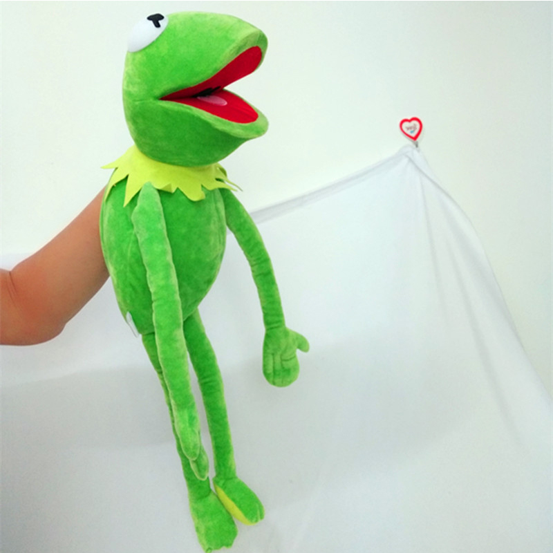 Kermit frog Puppets plush toy doll stuffed toys  2