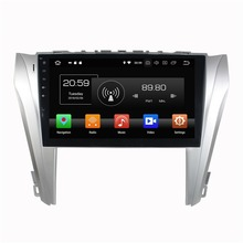 10.1″ Android 8.0 Car Audio DVD Radio GPS Navigation for Toyota Camry 2014 2015 4GB RAM Bluetooth WIFI USB Mirror-link 32GB ROM
